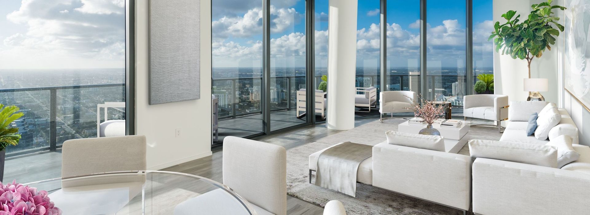 Exclusive 57Th floor Penthouse at SLS LUX